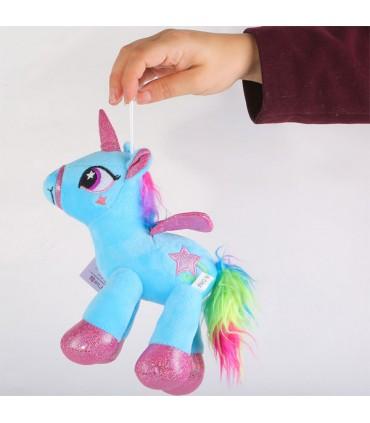عروسک طرح اسب پونی - 25 سانتی