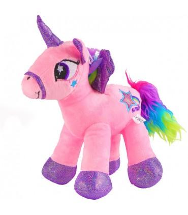 عروسک دخترانه طرح اسب پونی - 25 سانتی