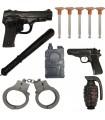 تفنگ بازی مدل پلیس -11 عددی