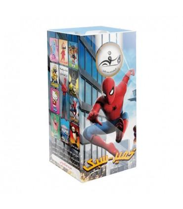 خمیر بازی مدل مرد عنکبوتی بسته 6 عددی